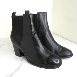 Clarks Chelsea Leather Ankle Boots Booties
